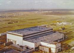 Монтажно-испытательный корпус на космодроме Байконур