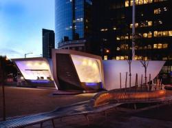 Площадь и павильон «Новый Амстердам»