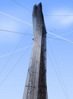 Телебашня космодрома «Восточный»
