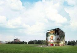 Первым объектом в Сколково станет офисный комплекс-трансформер