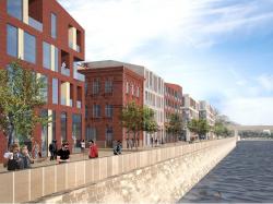 Архитектурная концепция жилых зданий 18-20G многофункционального комплекса «Красный Октябрь»