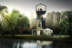 Павильоны Парка берегов Сены