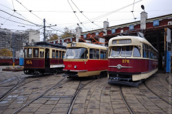 Старейший трамвайный парк на Шаболовке сносить не будут