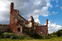 Замок Шаакен (Некрасово) Калининградская область