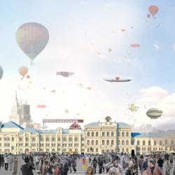 Архитектурная концепция реконструкции здания Политехнического музея в Москве