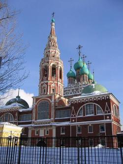 В храме Воскресения Христова в Кадашах подписан акт о возвращении его Русской Православной Церкви