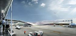 Переход между терминалами Брюссельского аэропорта