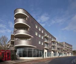 Жилой комплекс на улице Форчун-Грин-Роуд в Лондоне. 2010. Фото с сайта czwg.com