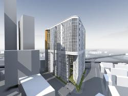 Архитектурная концепция застройки участка 17-18 Москва-сити