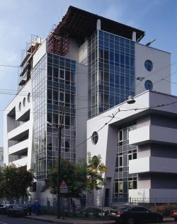 Многофункциональный комплекс с апартаментами на улице Гиляровского. Фотография © Владислав Ефимов