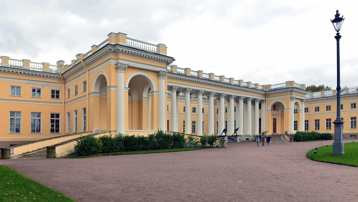 александровский дворец в царском селе фото готовые модели