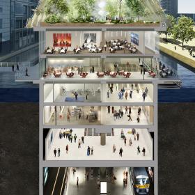 В Лондоне открылась оранжерея будущего – творение Нормана Фостера