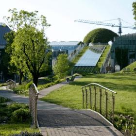 Сад на крыше варшавской библиотеки – крупнейший в Европе