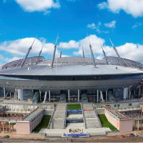 НЛО приземлилось в центре Петербурга