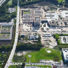 Озеленение кровель больницы в Дании – победителя выставки Mipim Awards 2017
