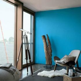 Dulux представляет: цвет в интерьере – Синий