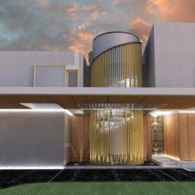 Проектирование частного дома по принципам BIM. Дом 15
