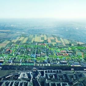 Крыши города-сада