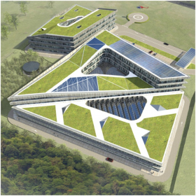 Первая сертифицированная «зеленая» постройка в Сколково