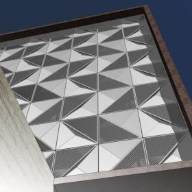 BIM-библиотекa объемных фасадов GRADAS