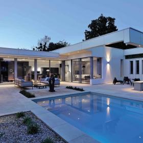FunderMax в частных домах: для интерьеров и фасадов