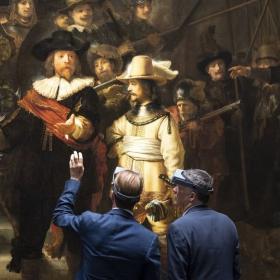 AkzoNobel участвует в реставрации знаменитого шедевра Рембрандта «Ночной дозор»