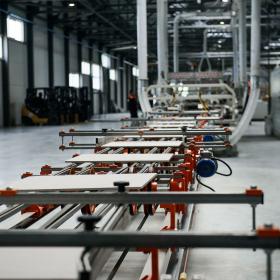 «Грани Таганая» сообщают о запуске производства керамогранита формата 600 х 1200 мм