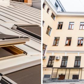 Мансардные окна Velux для бизнес-центра с сертификатом LEED Gold. Проект – мастерская Сергея Цыцина