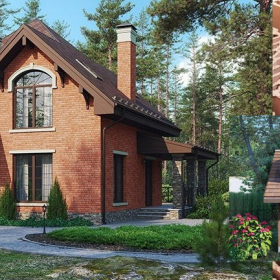 Готовые проекты загородных домов с материалами Wienerberger