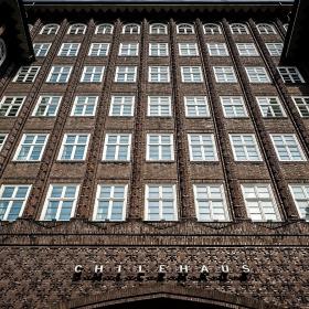 Чилихаус в Гамбурге: клинкерный корабль