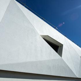 Удивительная концепция фасада у подножия гор Монблана