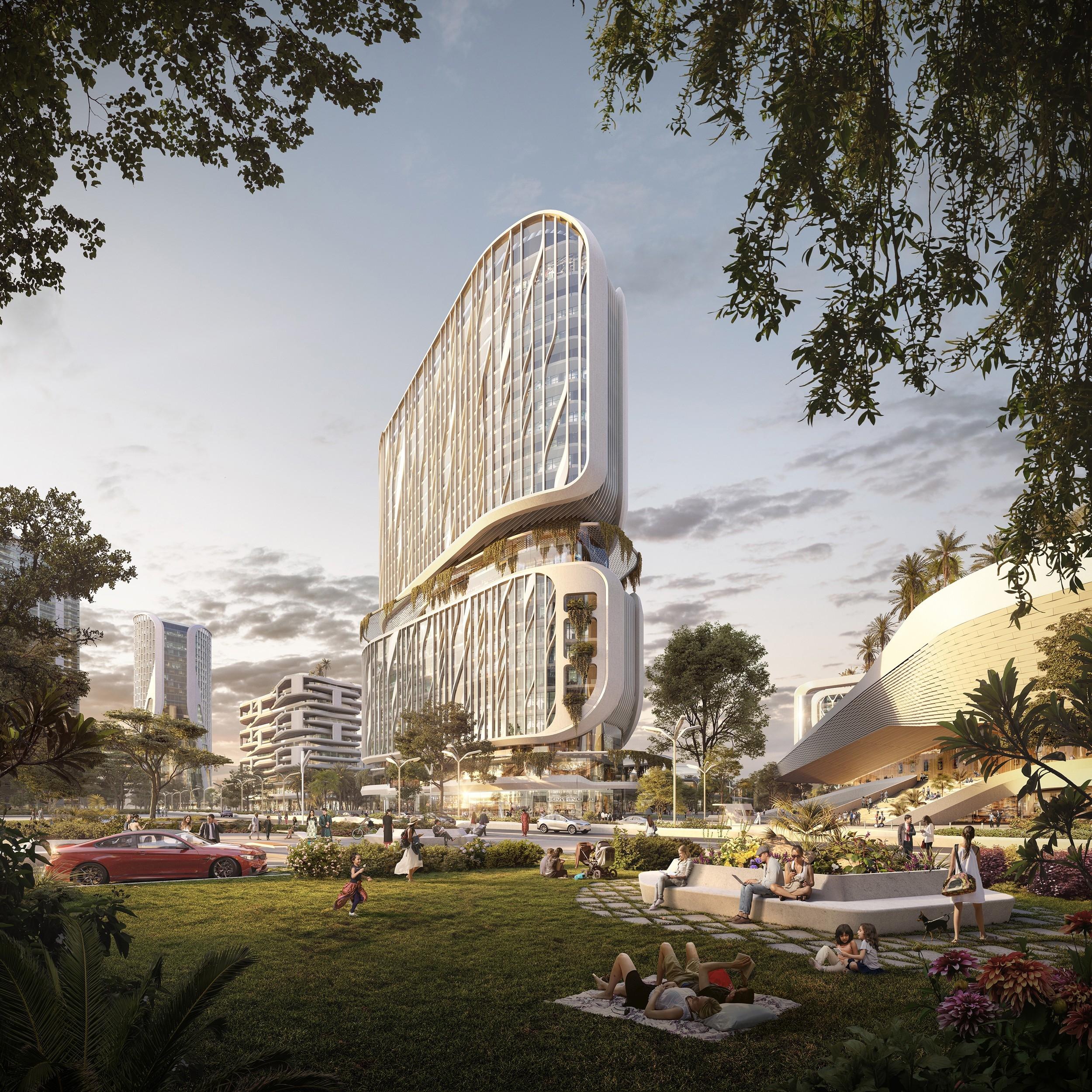 Центр высоких технологий Karle Town Centre