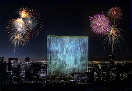 Проект небоскреба 21st century oasis