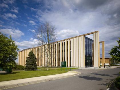 Привратный корпус кампуса Саттон-Бонингтон Университета Ноттингема
