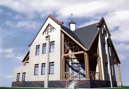 Жилой дом в Московской области