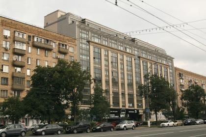 Проект реконструкции фасадов здания ПромСтройПроекта