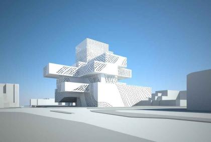 Центр музыки и танца в Ашкелоне