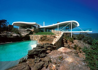 Berman House, Joadia, NSW. Harry Seidler. 1998-99