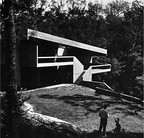 Harri and Penelope Sidler House, Kilara, Sidney. 1966-67