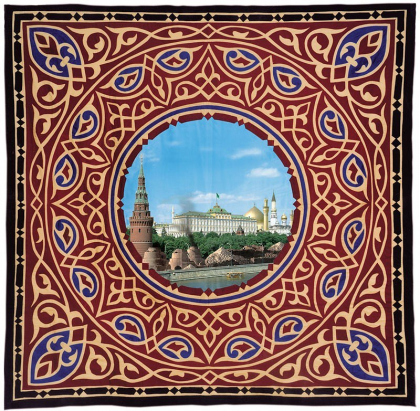 """MOSCOW"", AES, 2000, «OASIS» series of carpets from the project «AES –
