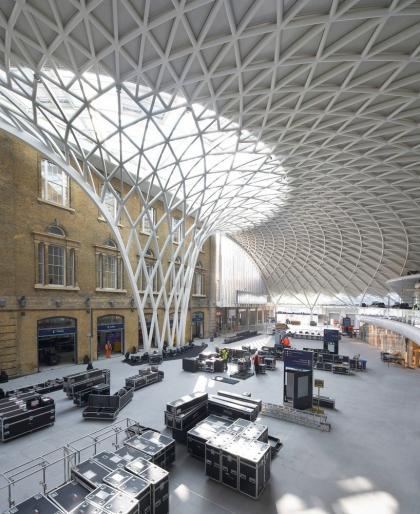 Вокзал Кингс-Кросс – реконструкция