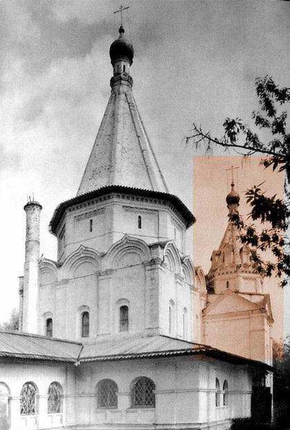 Церковь Троицы в Троицком-Голенищеве