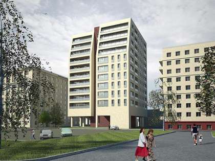 Apartment house on Komsomol prospectus, possession 3
