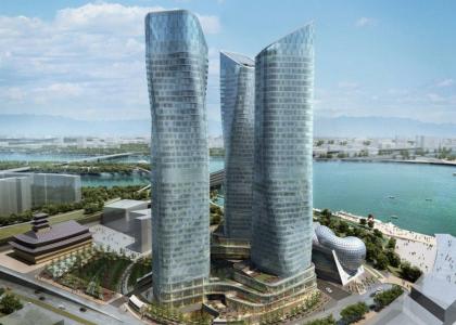 Башни Dancing Towers