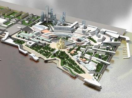 Торгово-деловой комплекс на Стрелке в г. Нижний Новгород