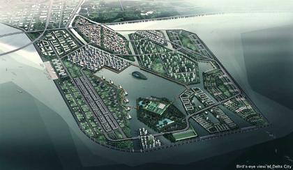 Тяньзциньская зона экономического развития - генплан