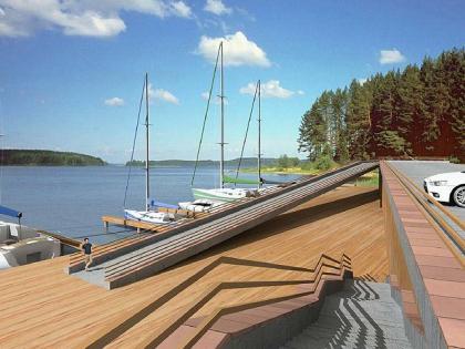 Конкурсное предложение планировки курорта «Селижарово» на озере Волго