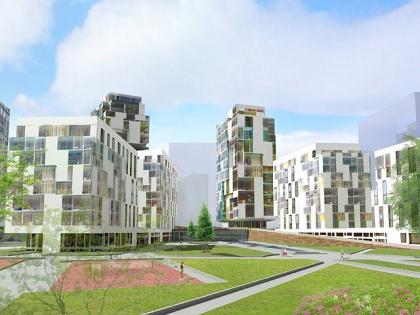 Конкурсное предложение строительства жилого района «Береговой»