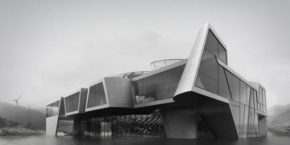 Выставочно-деловой центр на острове Сахалин