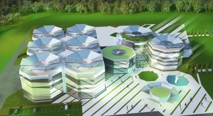 Многопрофильный научно-технический центр с помещениями исследовательского назначения и административно-деловой зоной «R&D Renova»
